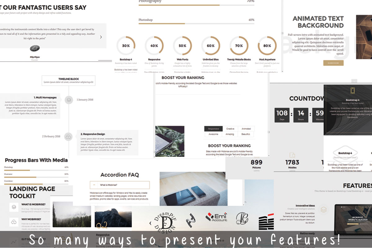 Drag and Drop Responsive Site Builder Review