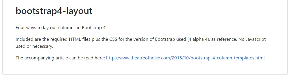 Design  models  around Bootstrap 4