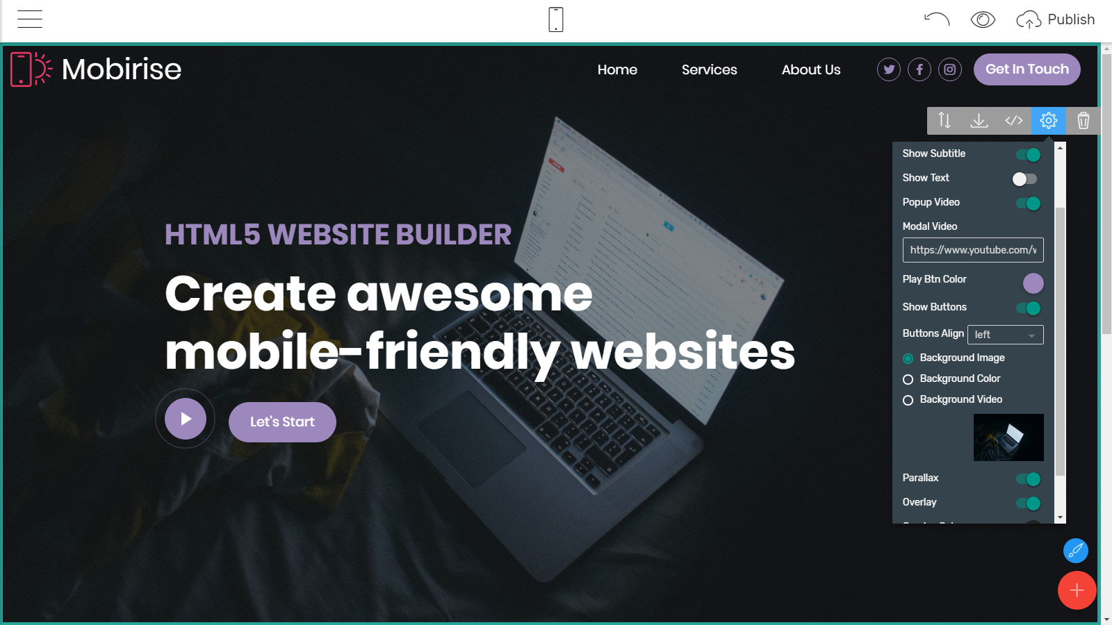 html5 site themes